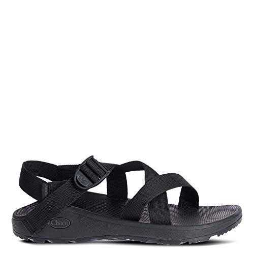 Chaco Men's Zcloud Sport Sandal, Solid Black