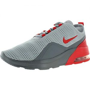 Nike Men's Air Max Motion 2 Running Shoe, Wolf Grey/University Red/Cool Grey