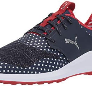 Puma Golf Men's Ignite NXT LACE Patriot Pack Golf Shoe