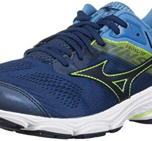 Mizuno Men's Wave Inspire Running Shoe Blue Wing Teal-Dress Blue