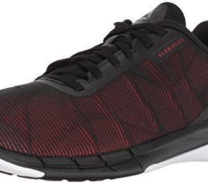 Reebok Men's Fast Flexweave, Black/Primal red/Shark/wh