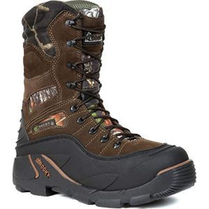Rocky Men's Blizzard Stalker Pro Hunting Boot,Brown/Mossy Oak
