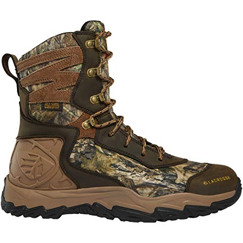 "Lacrosse Men's Windrose 8"" 600G Waterproof Hunting Boot, Mossy Oak Break-Up"