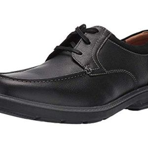 Clarks Men's Rendell Walk Oxford, Black Leather