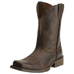 Ariat Men's Rambler Wide Square Toe Western Cowboy Boot, Wicker