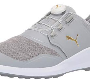 Puma Golf Men's Ignite Nxt Disc Golf Shoe, high Rise-puma Team Gold-puma White