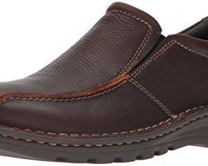 Clarks Men's Vanek Step Shoe, brown oily leather