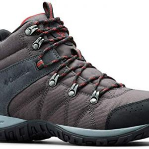 Columbia Men's Peakfreak Venture Boot , shark, mountain red