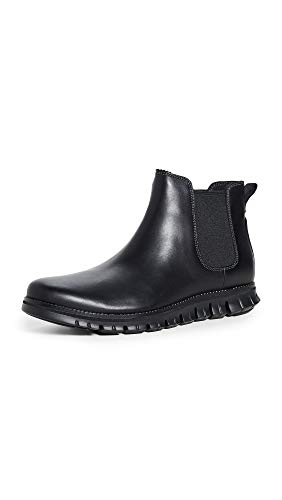 Cole Haan Men's Zerogrand Chelsea Waterproof Boot, Wp Black Leather