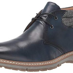 STACY ADAMS Men's Grantley Chukka Lace-Up Boot, Indigo