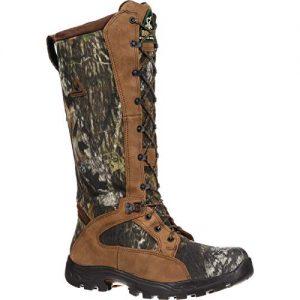 """Rocky Outdoor Boot Mens 16"""" Prolight Waterproof Snake 9 WI Mossy Oak"""