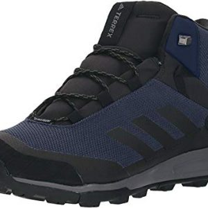 adidas outdoor Men's Terrex Tivid MID CP Boot, COL Navy/Black/Grey Three