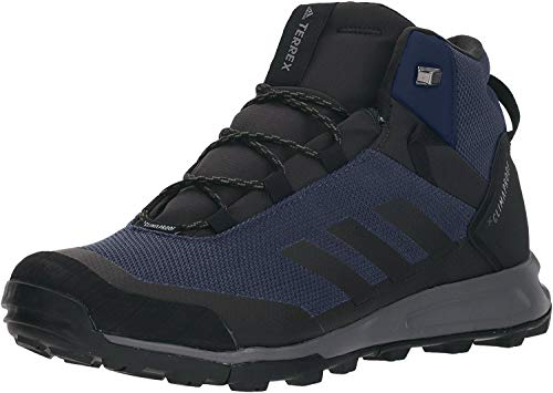 adidas outdoor Men's Terrex Tivid MID CP Boot, COL Navy/Black/Grey Three