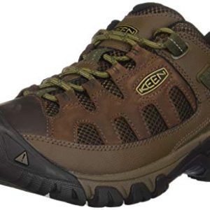 KEEN Men's Targhee Vent Hiking Shoe, Cuban/Antique Bronze