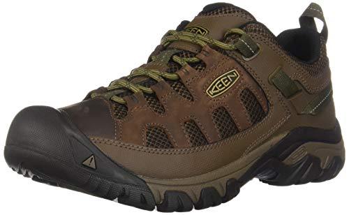 KEEN Men's Targhee Vent Hiking Shoe, Cuban/Antique Bronze