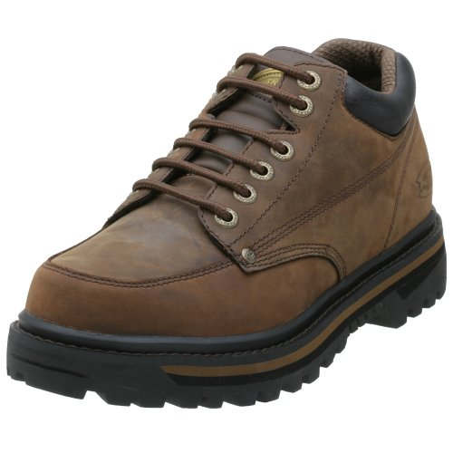 Skechers Men's Mariner Low Boot,Dark Brown