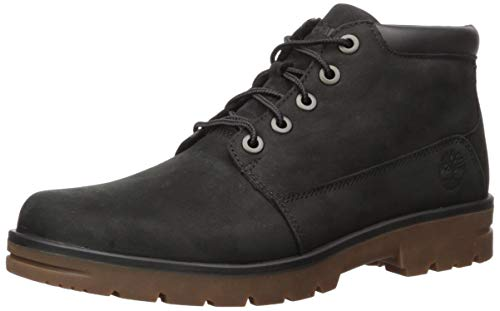 Timberland Men's Newtonbrook Plain Toe Chukka Boot, Black Nubuck
