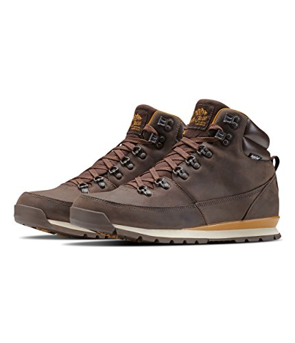 The North Face Men's Back-2-Berkeley Redux Leather - Chocolate Brown & Golden