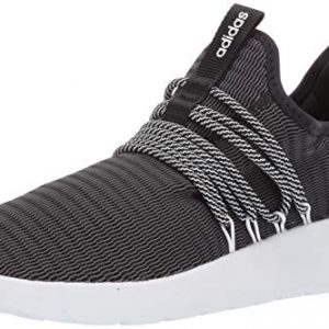 adidas Men's Lite Racer Adapt Running Shoe, black/black/grey