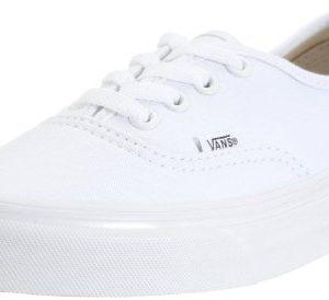 Vans Authentic Core Classics, True White, Men's 6, Women's