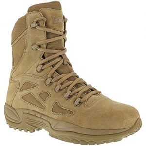 "Reebok Mens Rapid Response RB 8"" Tactical Military Boot, Coyote"