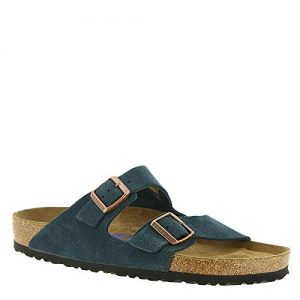 Birkenstock Arizona Soft Footbed Dark Navy Suede Sandals