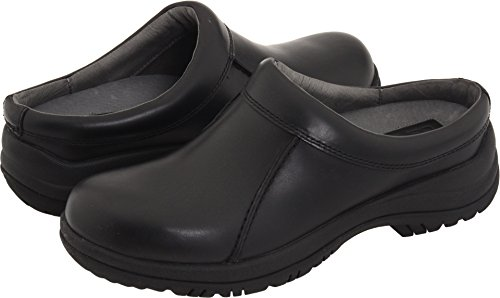 Dansko Men's Wil, Black Smooth Leather