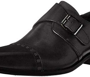 STACY ADAMS Men's Macmillian-Cap Toe Monk Strap Slip-On Loafer