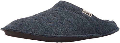 Crocs Classic Slipper Mule, Nautical Navy/Oatmeal