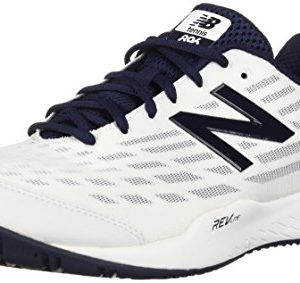 New Balance Men's Hard Court Tennis Shoe, White