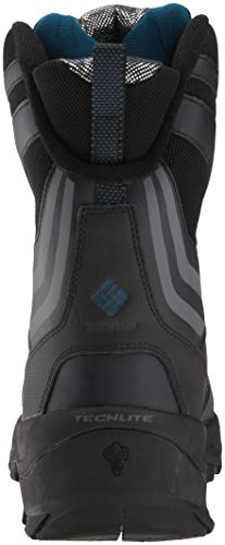 Columbia Men's Bugaboot Plus IV XTM Omni-Heat Mid Calf Boot Techlite lightweight midsole for long lasting comfort, superior cushioning, and high energy return Combination of leather, nylon, webbing and metal hardware. Waterproof seam-sealed construction. Techlite shell. Omni-Heat reflective lining. 600g insulation. Rated -65F/-54C Michelin WINTER COMPOUND. Cold Temperature firm grip to -30 DegreeC/-22 DegreeF. Anti-slip rubber, good abrasion resistance. Extreme conditions call for extreme protection. The ultimate boots for the harshest winter environments.