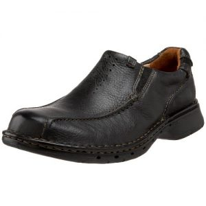 Clarks Unstructured Men's Un.Seal Casual Slip On,Black