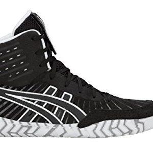 ASICS Aggressor 4 Men's Wrestling Shoes, Black/Black