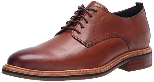 Cole Haan Men's FRANKLAND Grand Plain Toe Oxford, British Tan