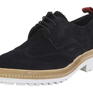 Hugo Boss Men's Impact Dark Blue Derbies Oxfords Shoes