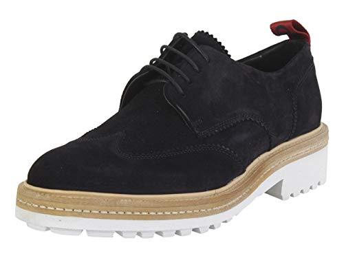 Hugo Boss Men's Impact Dark Blue Derbies Oxfords Shoes