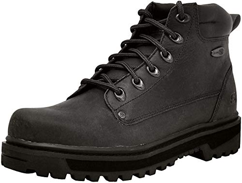 Skechers USA Men's Pilot Utility Boot,Black