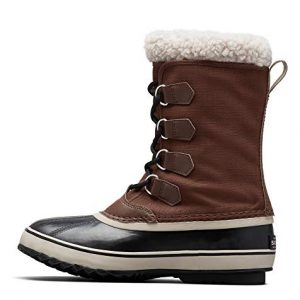 Sorel - Men's Pac Nylon Snow Boot for Winter, Tobacco, Black