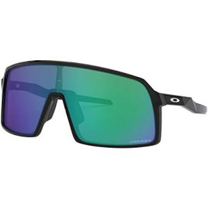 Oakley Men's Sutro Shield Sunglasses, Black Ink/Prizm Jade