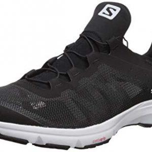 Salomon Men's Amphib Bold Athletic Water Shoes, Black/Black/White
