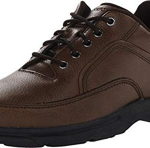 Rockport Men's Eureka Walking Shoe Oxford, Brown
