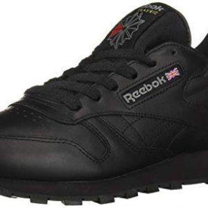 Reebok Men's Cl Lthr Fashion Sneaker, Us-Black