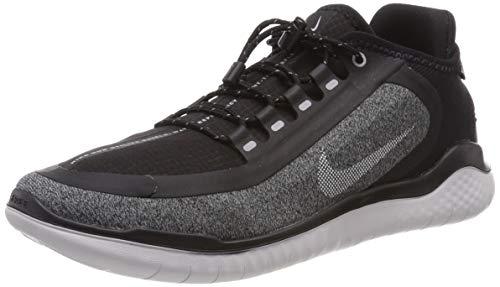 Nike Men's Free RN 2018 Shield Running Shoe Black