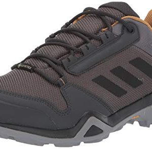 adidas outdoor Men's Terrex AX3 GTX Hiking Boot, Grey Five/Black/Mesa