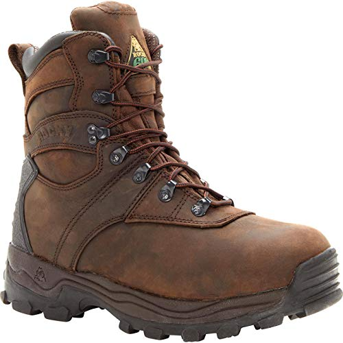 Rocky Sport Utility Pro 600G Insulated Waterproof Boot Brown