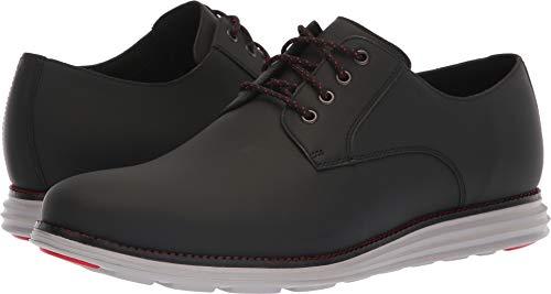 Cole Haan Men's Original Grand Plain Toe Sneaker, Black Matte Leather