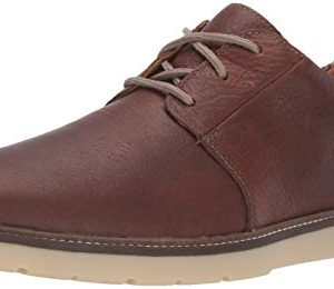 Clarks Men's Grandin Plain Oxford, Tan Leather