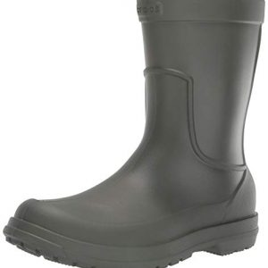 Crocs Men's All Cast Rain Boot, Dusty Olive/Dusty Olive