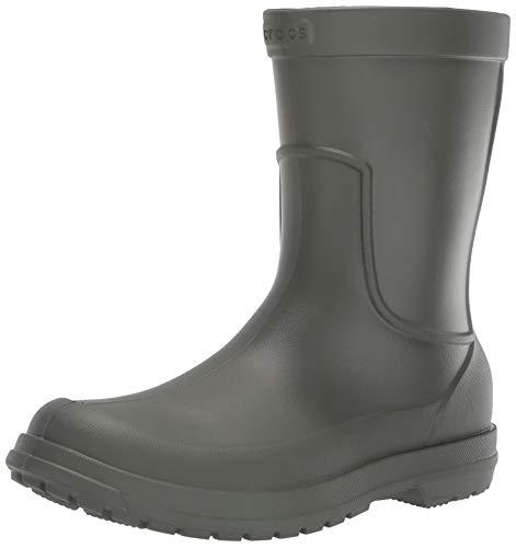 Crocs Men's All Cast Rain Boot, Dusty Olive/Dusty Olive