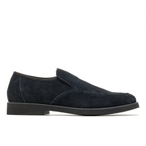 Hush Puppies Men's Bracco MT Slipon Loafer, Black Suede